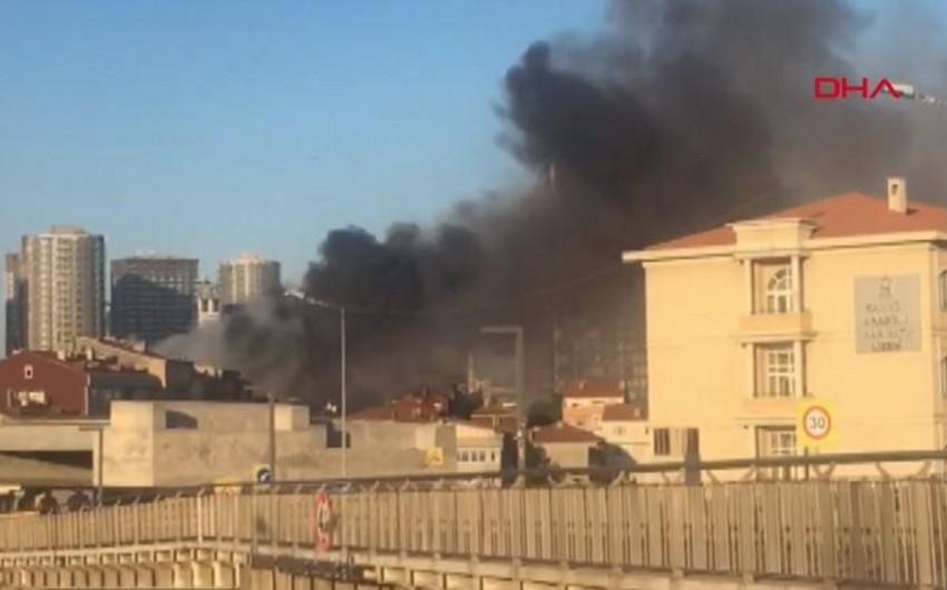 İstanbulda binada yanğın olub, ölən və yaralananlar var - YENİLƏNİB