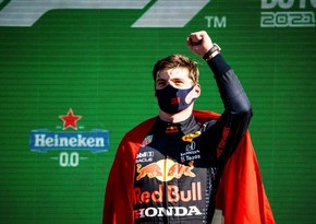 Ферстаппен выиграл Гран-при Нидерландов Формулы-1