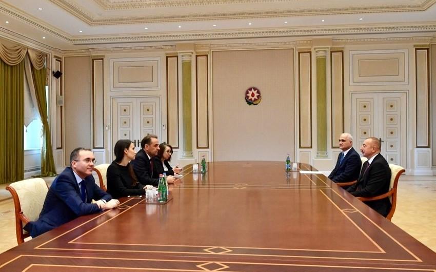 Prezident İlham Əliyev Serbiya Baş nazirinin müavinini qəbul edib - YENİLƏNİB