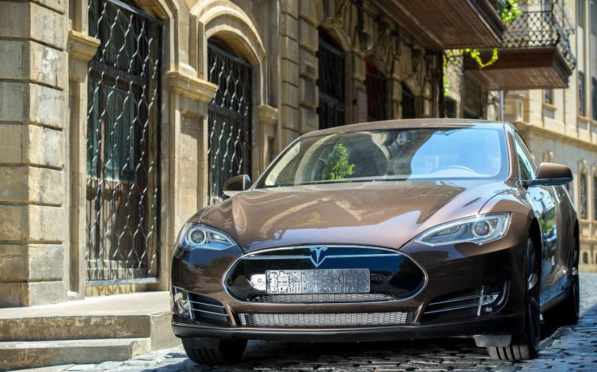 Bakıda elektrik avtomobillərin təqdimatı keçiriləcək