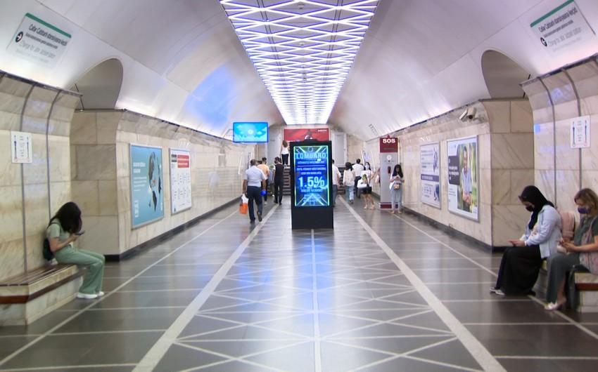 Bakı metrosunda koronavirus xəstələri saxlanılıb