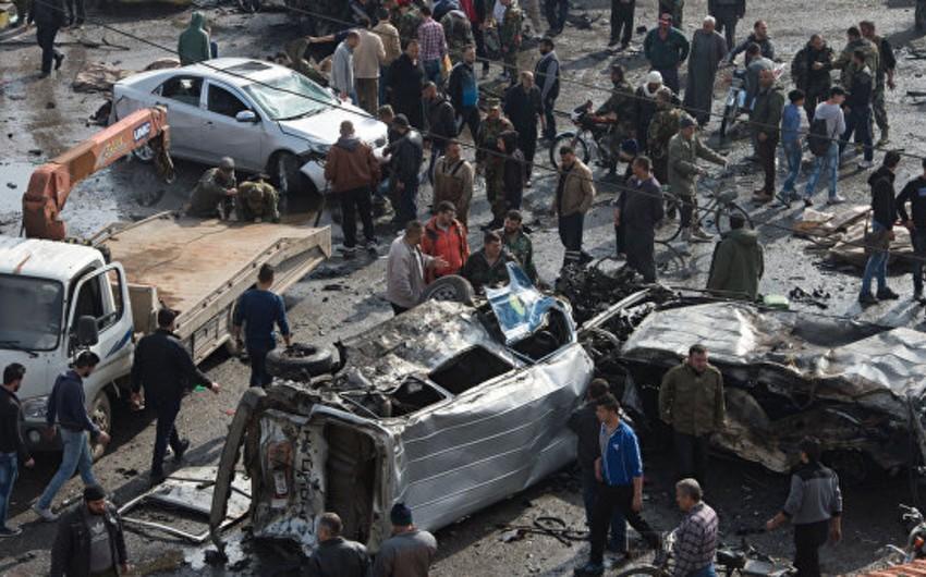Suriyanın Homs şəhərində törədilən iki partlayış nəticəsində ölənlərin sayı 46 nəfərə çatıb - YENİLƏNİB