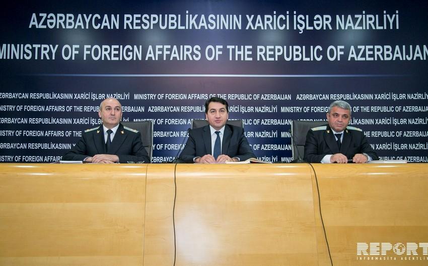 Azərbaycan XİN və Baş Prokurorluq Sumqayıt hadisələri ilə əlaqədar birgə bəyanat yayıb