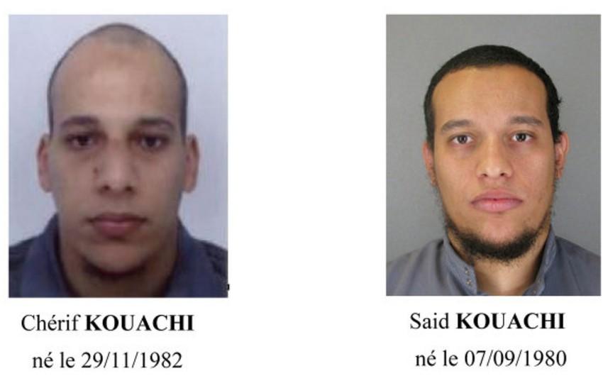 Fransada terror aktında şübhəli bilinən qardaşlar öldürüldü