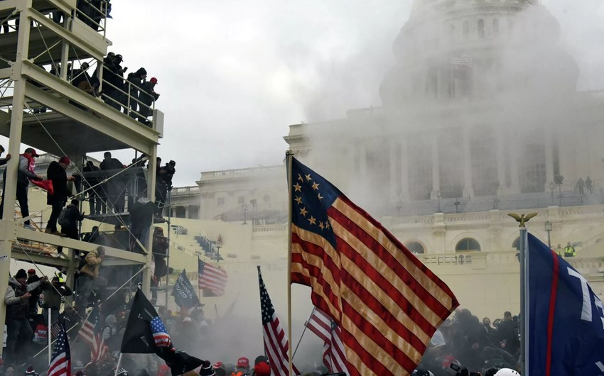 Capitol riots: Four die as Trump supporters storm US Capitol