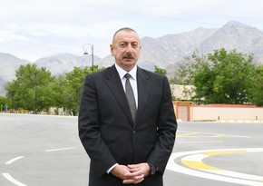 Azerbaijani president: Zangazur corridor must and will be opened