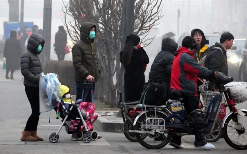 Ötən ay Çində yoluxucu xəstəliklərdən 1901 nəfər ölüb