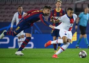 Barselonanın futbolçuları PSJ ilə matçda mübahisə etdi