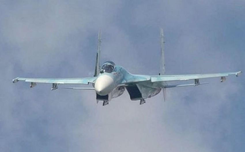 Rusiyanın Su-27 qırıcı təyyarəsi Baltik dənizində Amerika kəşfiyyatçı təyyarəsini təqib edib