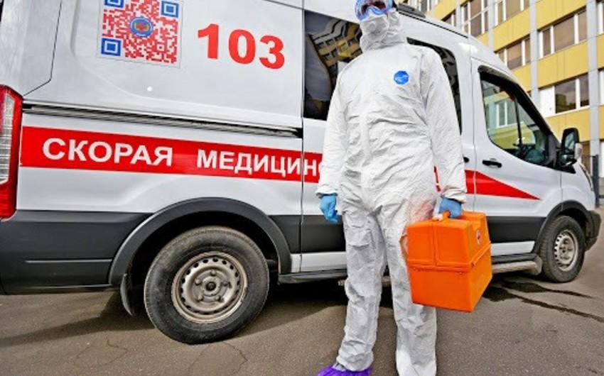 Rusiyada koronavirusa yoluxanların sayı 370 mini ötdü