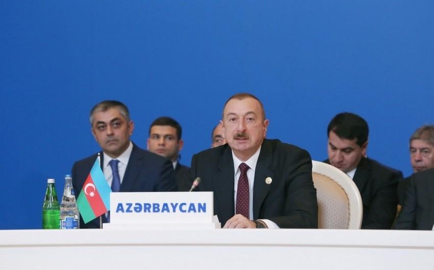 Azərbaycan Prezidenti: Son 16 ildə Azərbaycana 270 milyard dollardan çox sərmayə qoyulub