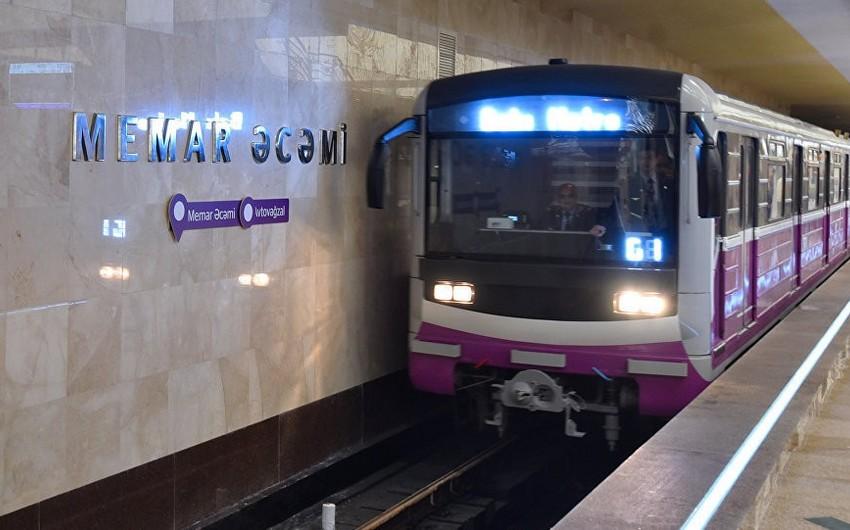 Bakı metrosunda qatarların hərəkəti bərpa olunub