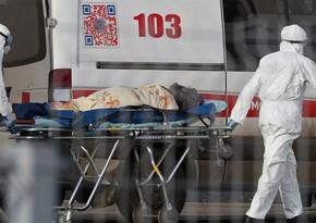 Rusiyada koronavirusdan gündəlik ölüm sayı min nəfəri keçib