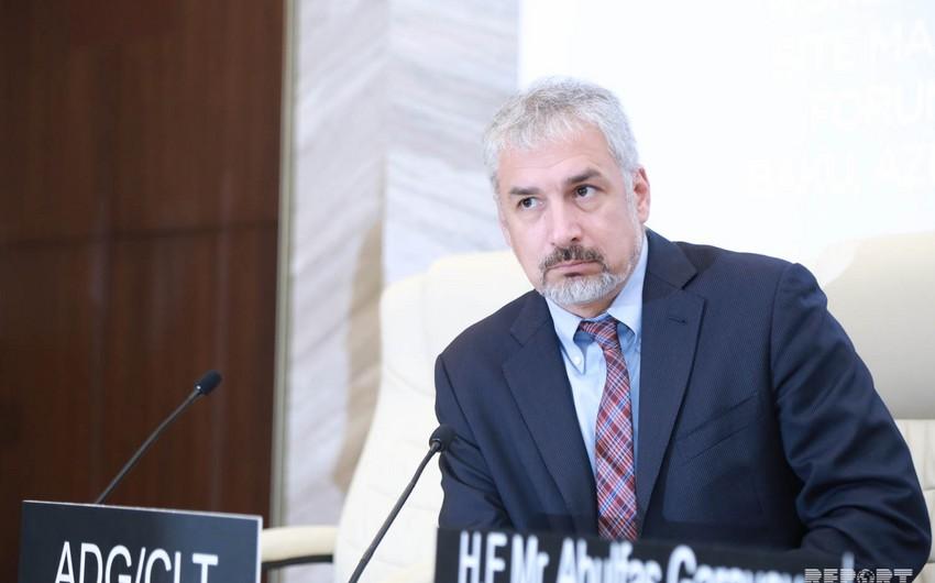 Ernesto Toni: UNESKO nümayəndələrinin Qarabağa ekspert kimi getməsi üçün təhlükəsizlik təmin olunmalıdır