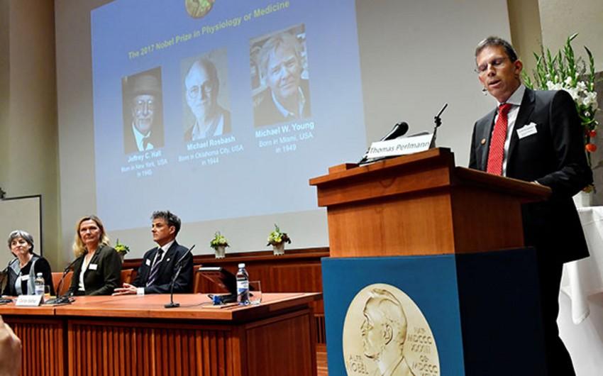 Tibb və fiziologiya sahəsində Nobel mükafatçılarının adları açıqlanıb