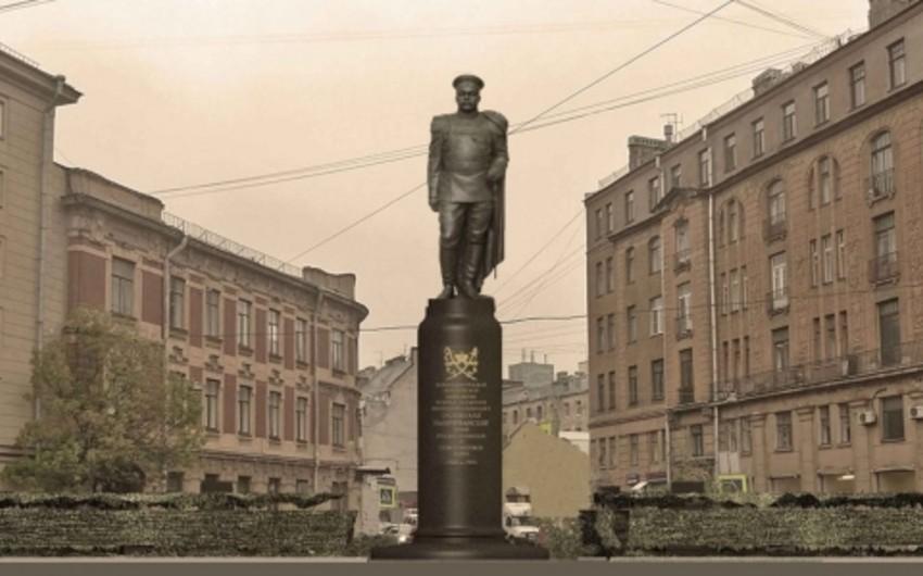 Sankt-Peterburqda Azərbaycan generalı Hüseyn xan Naxçıvanskiyə abidə ucaldıla bilər
