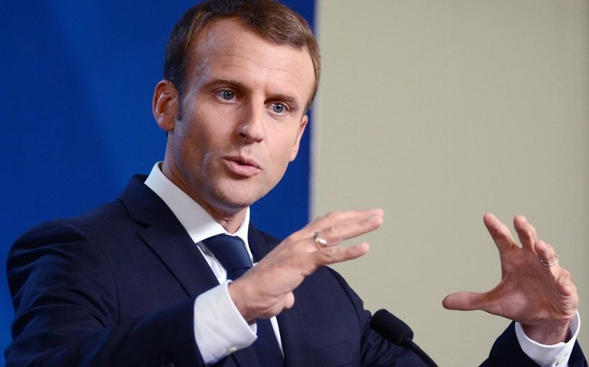Fransa prezidenti Əfqanıstandakı vəziyyətlə bağlı miqrant axınından narahatlığını ifadə edib