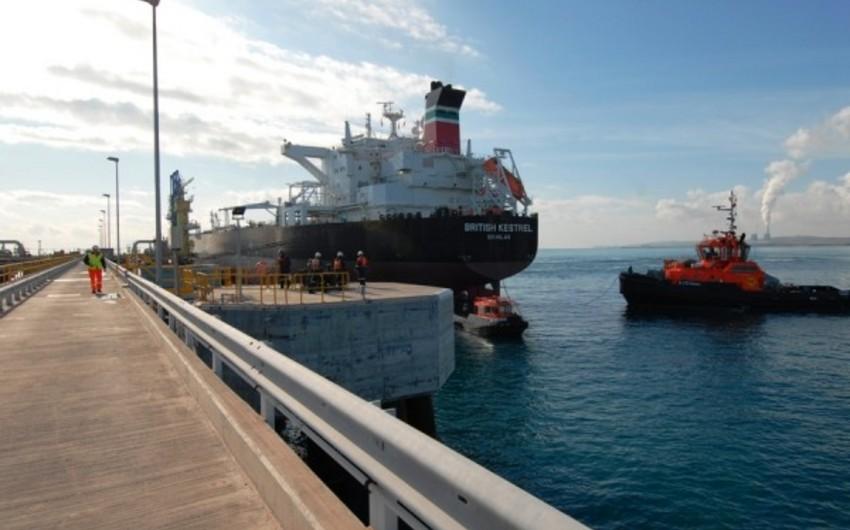 SOCAR ötən ay Ceyhan limanından 943 min ton xam neft ixrac edib