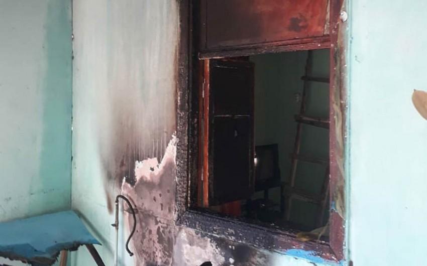 Ucarda yaşayış evində baş verən yanğın söndürülüb - YENİLƏNİB