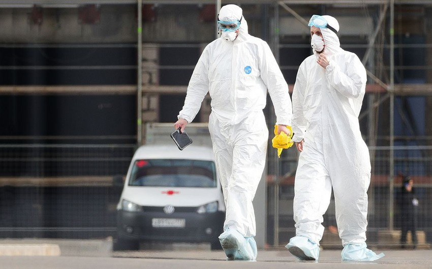 Rusiyada bir gündə 168 nəfər koronavirusdan ölüb