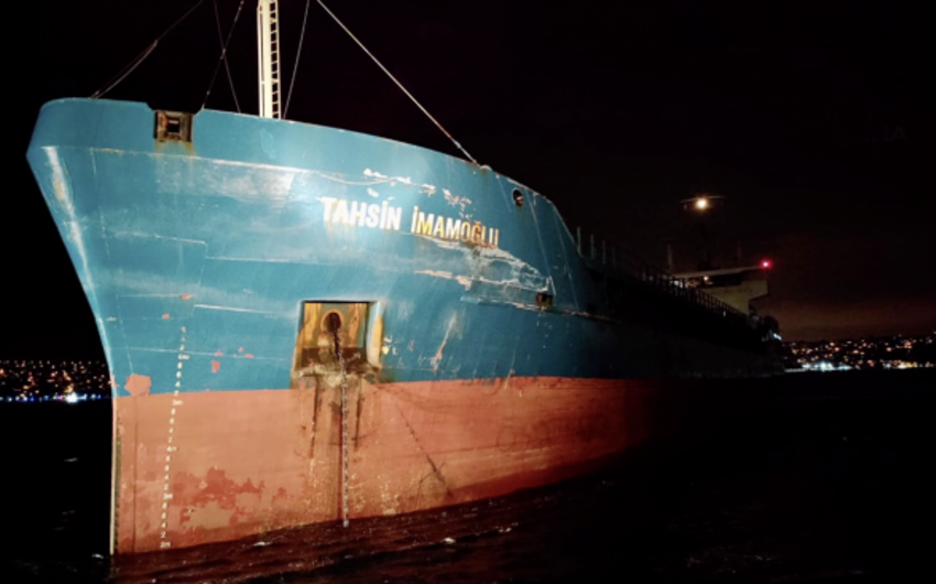 Turkish and Russian cargo ships collide