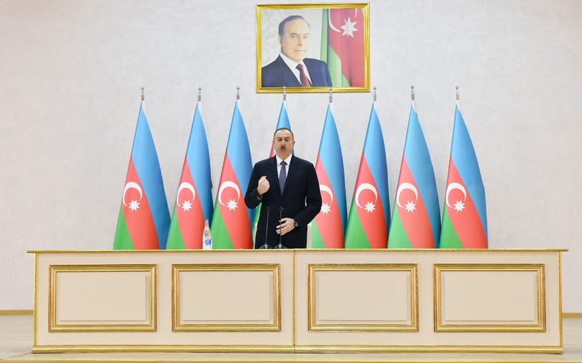 President Ilham Aliyev: World community highly appreciates combat capability of our army