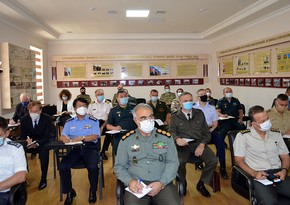 Another briefing held in the International Military Cooperation Department - VIDEO