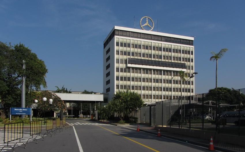"""""""Mercedes-Benz"""" Braziliyadakı zavodunu bağlayacaq"""