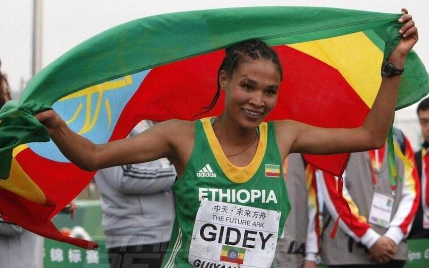 Efiopiyalı atletdən dünya rekordu -