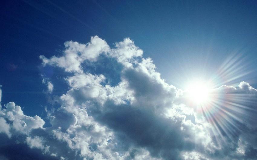 Ekoloqlar: Yaxın 2 gün ərzində havada rütubətlilik bir qədər çox olacaq