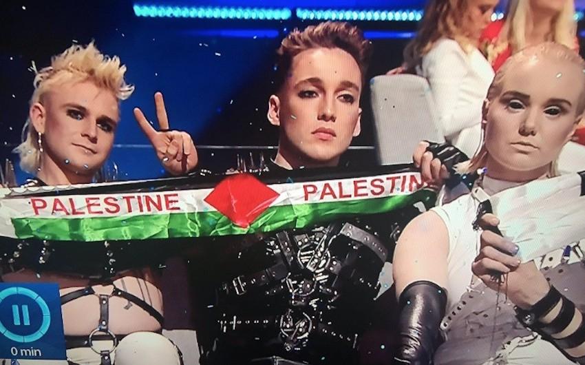İslandiya Eurovisionda Fələstin bayrağına görə cəzalandırıla bilər