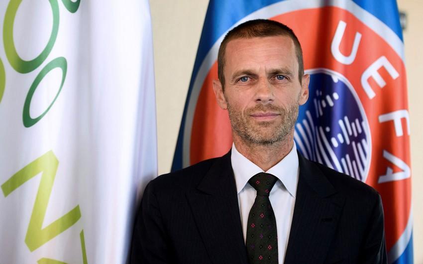 Президент УЕФА: Для нас большая честь посетить Азербайджан