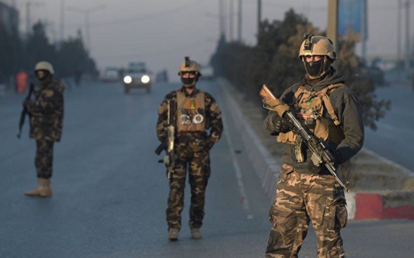 Kabildə terror hücumu nəticəsində təhlükəsizlik qüvvələrinin dörd əməkdaşı ölüb