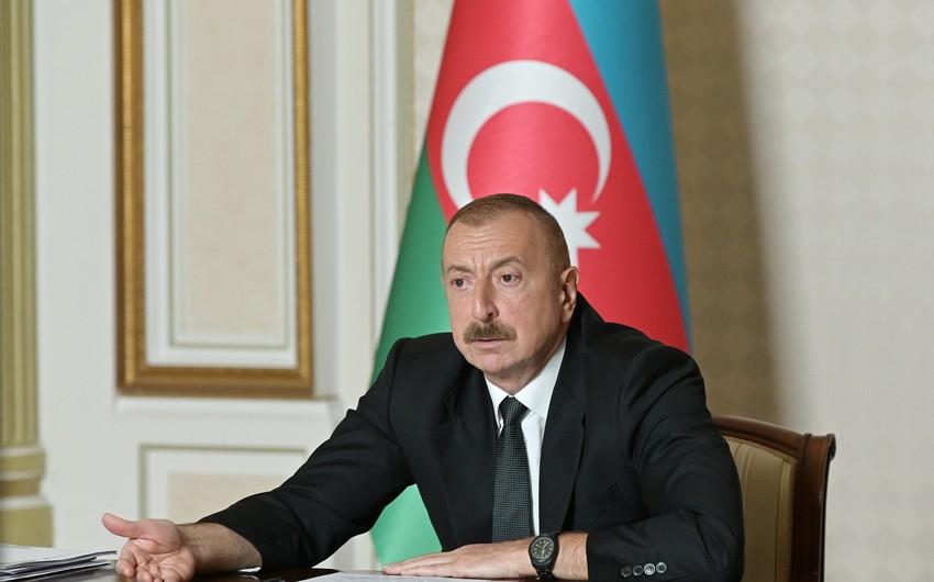 """Azərbaycan Prezidenti: """"Torpaqları azad edən əsgərlər və zabitlərdir"""""""