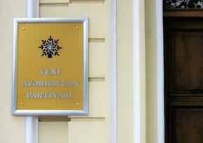 YAP MSK üzvlüyünə namizədlərinin siyahısını parlamentə təqdim edib