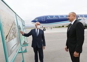 Состоялась презентация новой взлетно-посадочной полосы Нахчыванского международного аэропорта