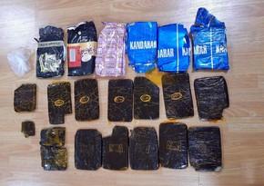 Polis əməliyyatlar keçirdi, külli miqdarda narkotik götürüldü
