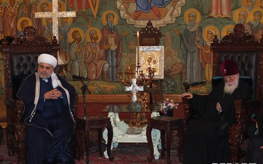 Katolikos patriarx: Gürcüstanda 400-ə yaxın məscid var
