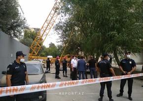 Baku crane collapse kills at least one person