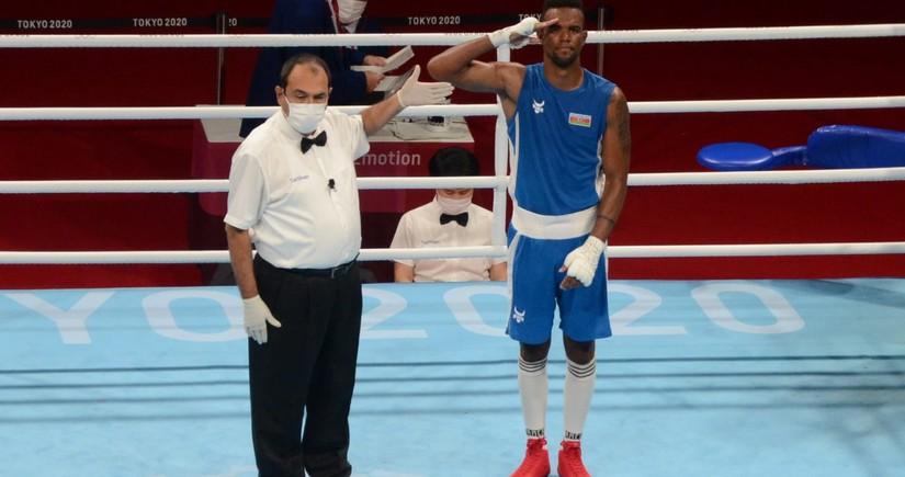 Tokio-2020: Azərbaycan boksçusu yarımfinala yüksəlib