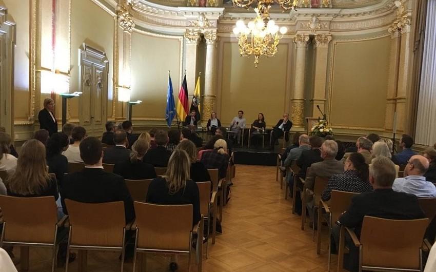 Almaniyada keçirilən Avropa Forumunda Azərbaycan da təmsil olunub