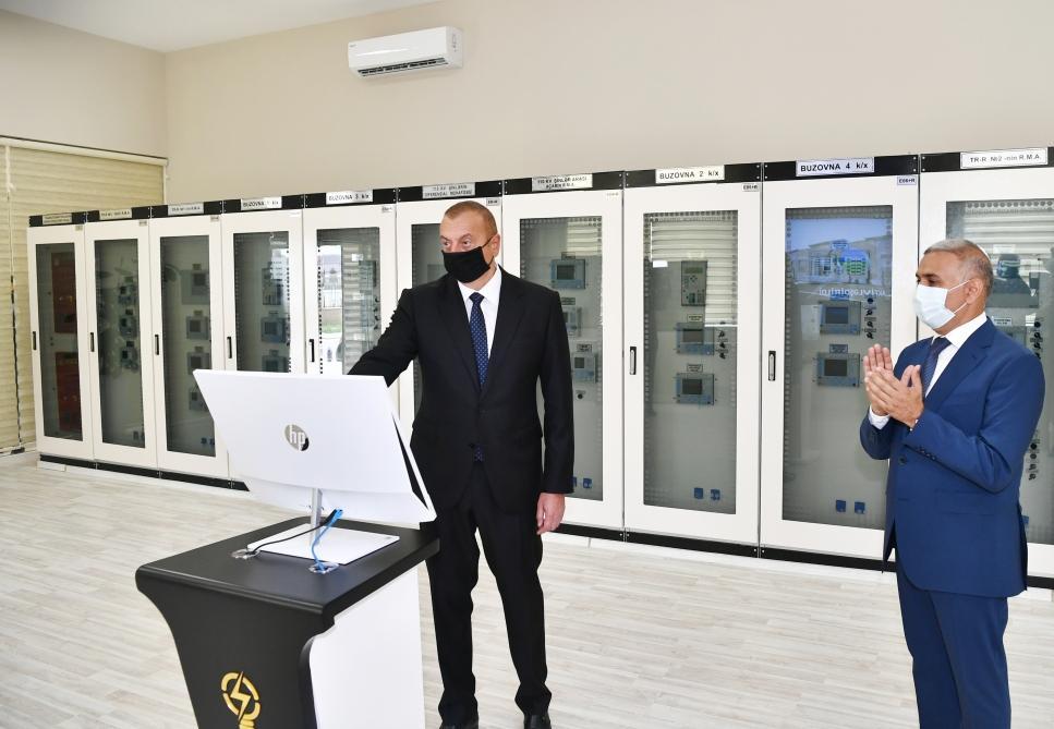 İlham Əliyev Bakıda açılışda iştirak edib - FOTO