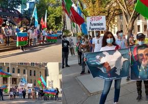 В центре канадского города поднят флаг Азербайджана