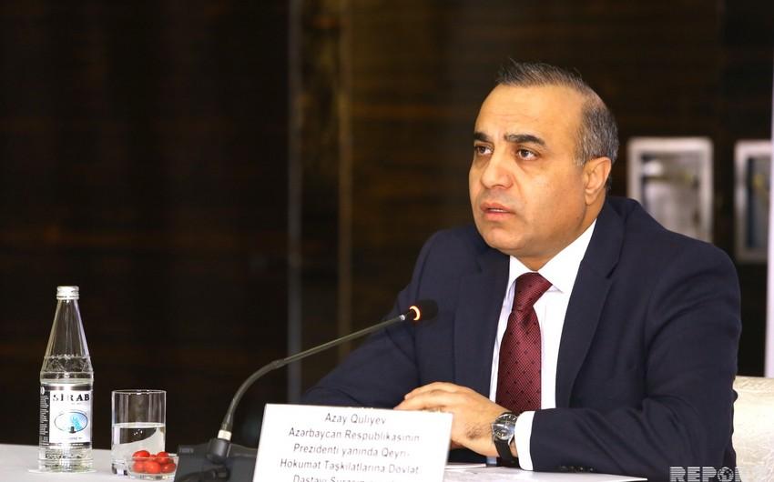Şura sədri: Sosial sifarişlər haqqında yeni qanun layihəsi Milli Məclisə təqdim olunub