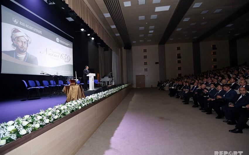 BANM-də Nəsiminin 650 illik yubileyinə həsr olunan ədəbi-bədii gecə keçirilib
