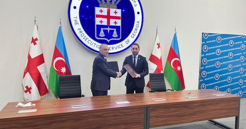 Состоялась встреча генпрокуроров Азербайджана и Грузии