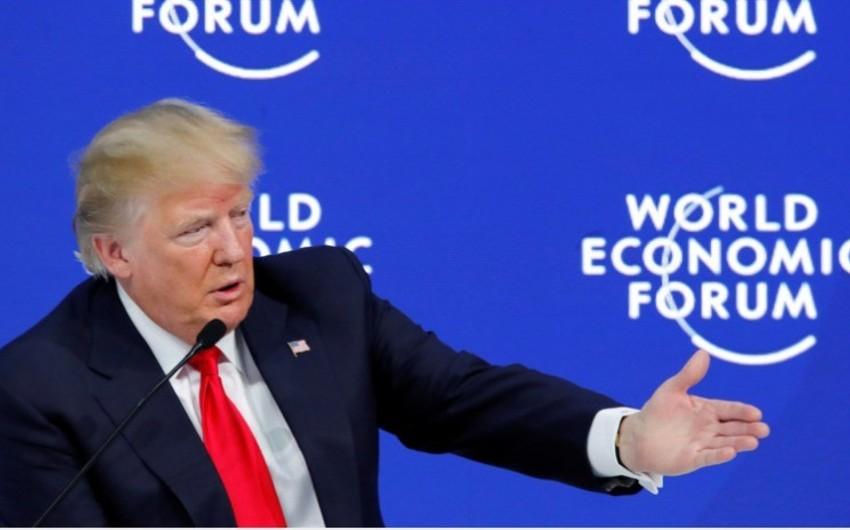Tramp Davosda İraq prezidenti ilə görüşəcək