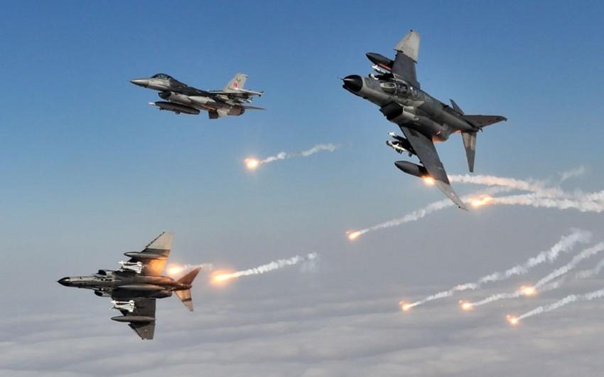 KİV: Türkiyə İraqın sərhədyanı ərazilərinə havadan zərbələr endirib