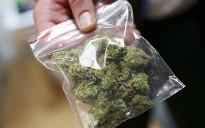Sumqayıt sakinindən külli miqdarda narkotik vasitə götürülüb
