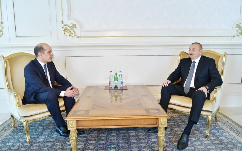 Президент Ильхам Алиев принял верительные грамоты новоназначенных послов Иордании и Катара